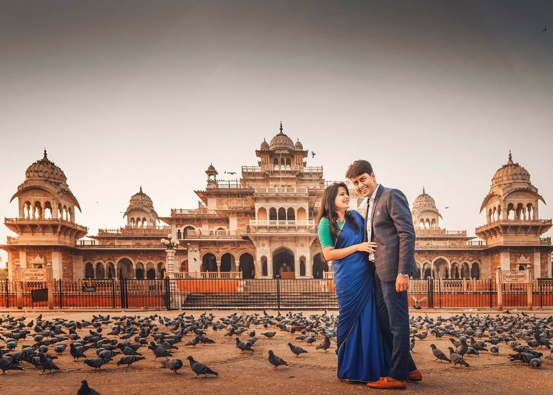 couple pre wedding photo shoot in Jaipur