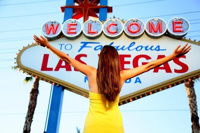 solo female traveler in Las Vegas