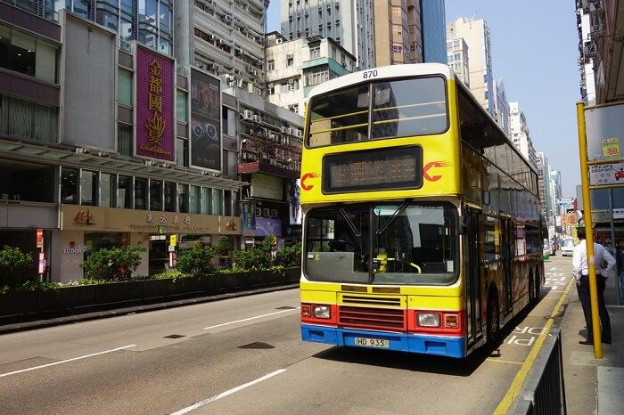 Transmac buses in Macau