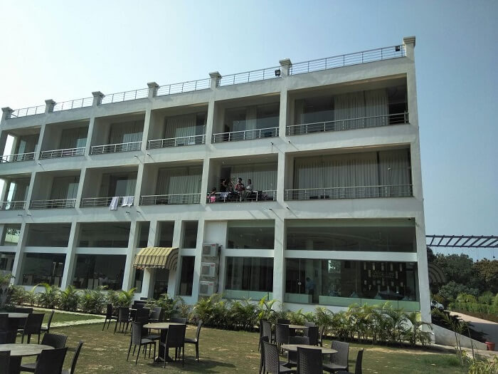 our hotel in Jim corbett