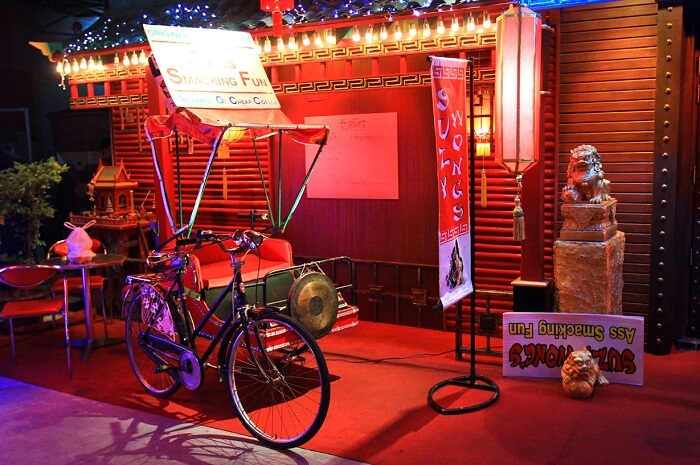 Suzy Wong go go bar in Patong