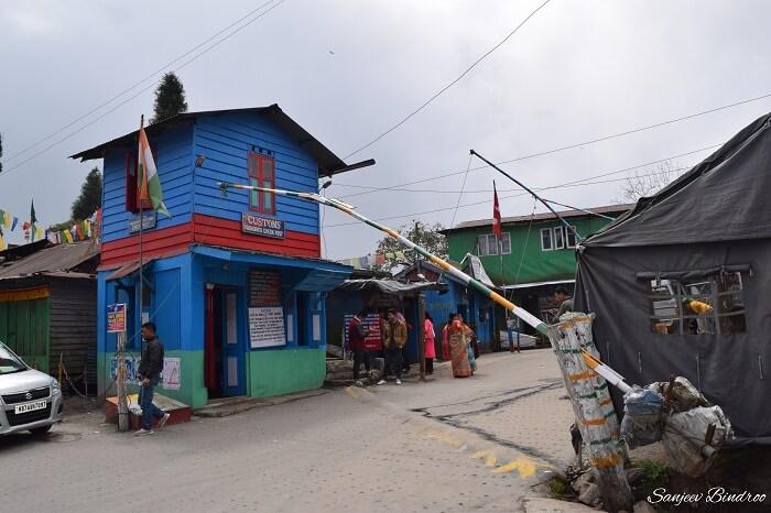 Nepal border near Darjeeling