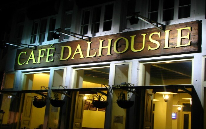 Cafe Dalhousie in Mall Road