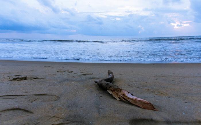 View of Cherai Beach - one of romantic places in Kochi