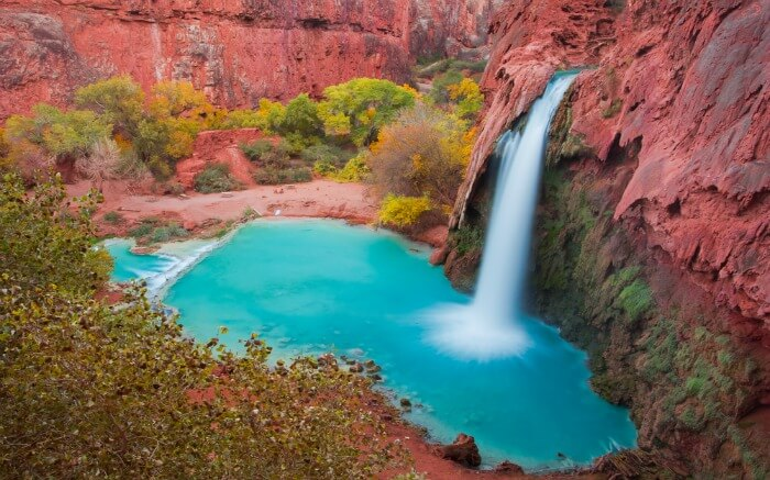 Havasu Falls in Arizona USA