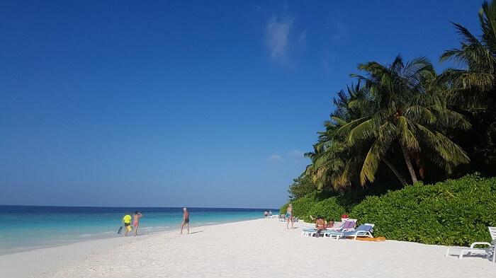afternoon beach maldives