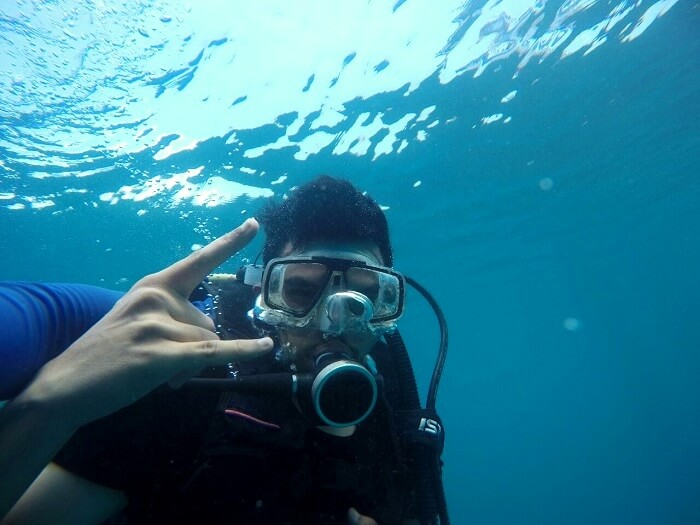 deep sea diving in andaman