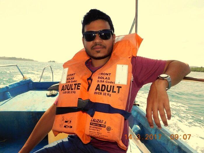 boat ride andaman