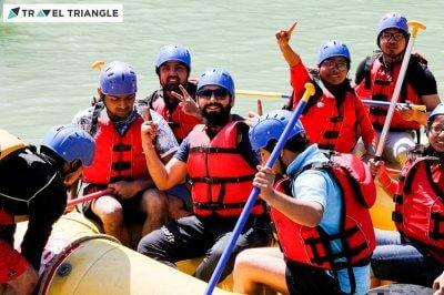 Rafting in Ganga river