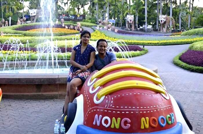 outside the entry point of nong nooch