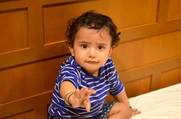 nishant's son enjoying in bangkok