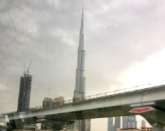 Burj Khalifa in Dubai