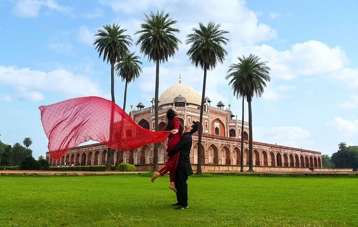 Humayun tomb prewedding photo shoot