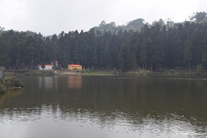 At the Mirik Lake