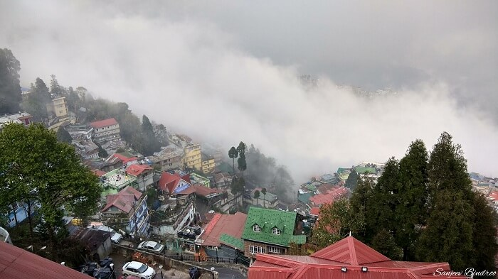 View from the Darjeeling resort