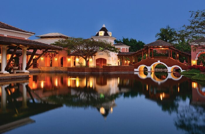 Fabulous view of resort