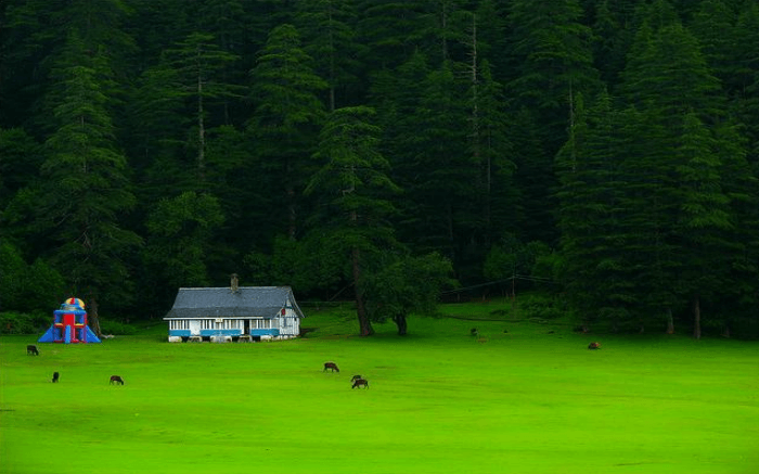 Shot of Khajjiar
