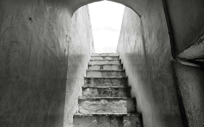 Staircase in Parvati Hill