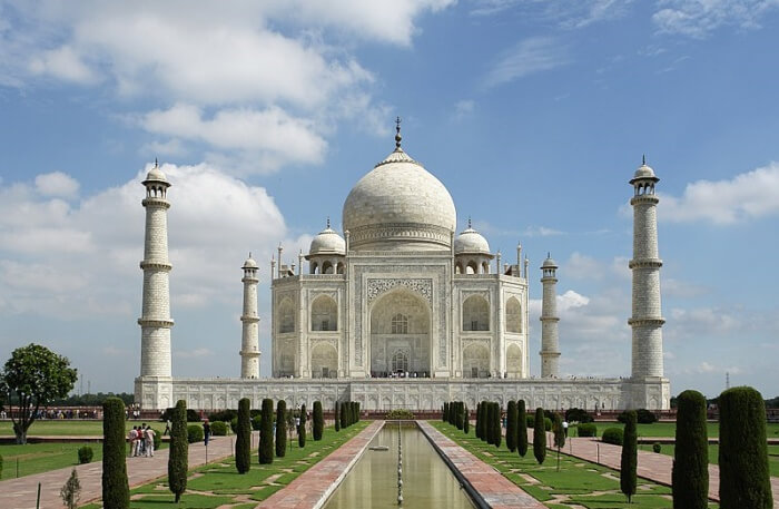 Wonderful view of Taj Mahal