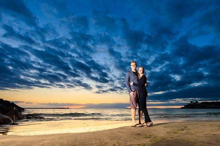 couple on tenerife island