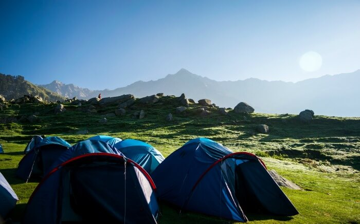 Tents in Triund