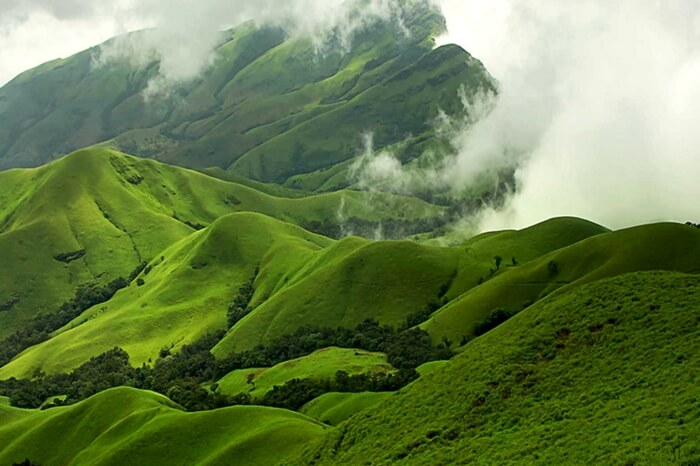 Pristine view of Kudremukh National Park