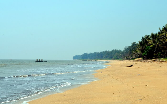 View of Kihim Beach