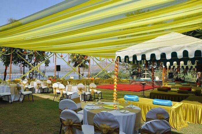 destination wedding at laxmi vilas udaipur