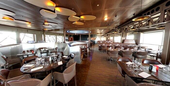 restaurants in eiffel tower