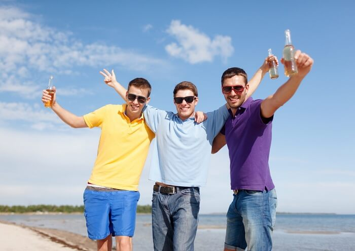 bachelor party mexico beach