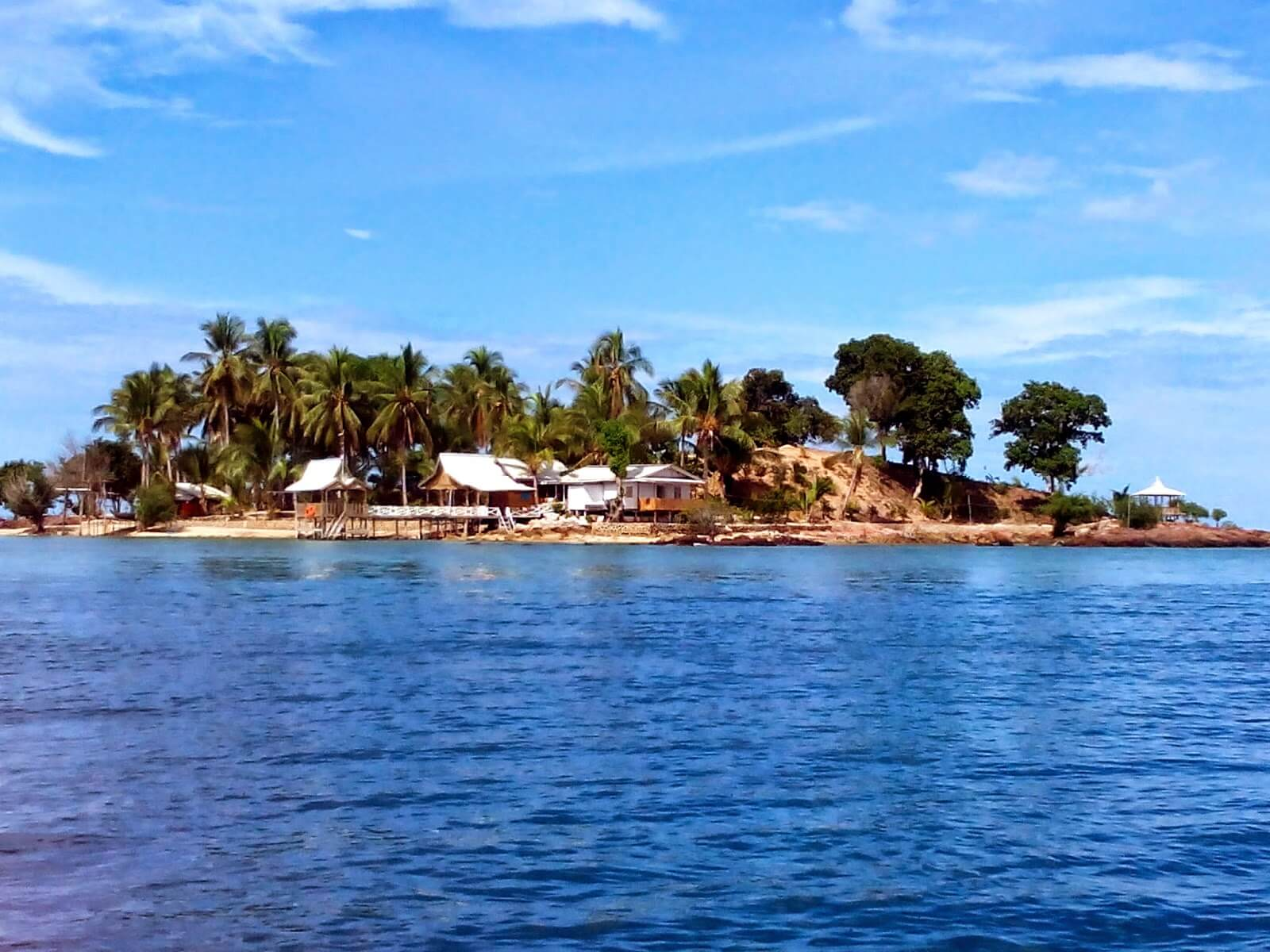 Pulau Hantu Island in Singapore