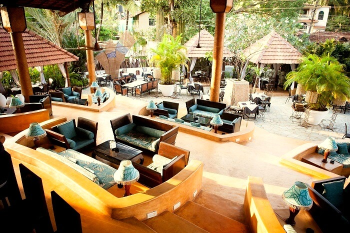 romantic restaurant in goa