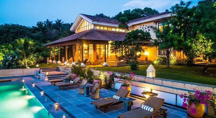luxury places to stay goa