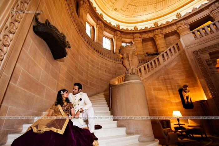 Pre wedding shoot at the taj umaid bhavan jodhpur