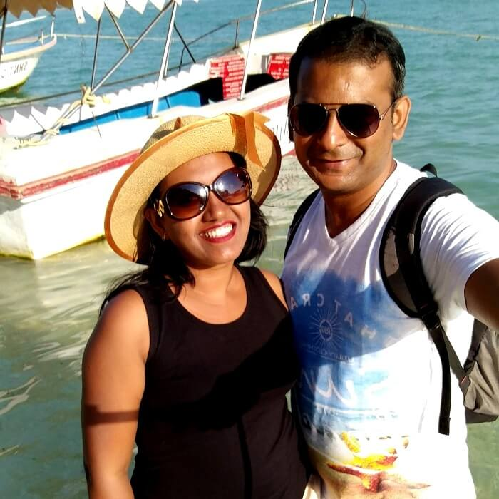 Couple at Neil Island, Andaman