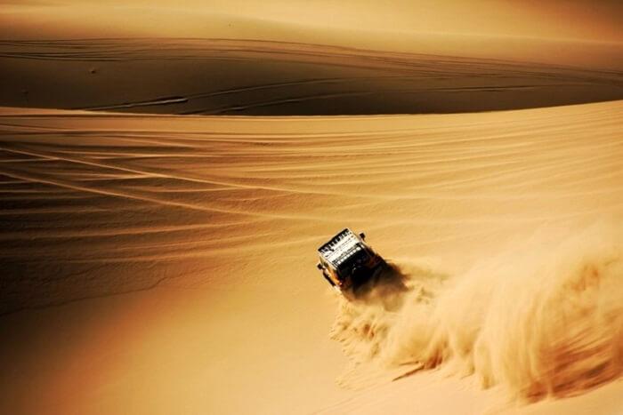 deserts near china
