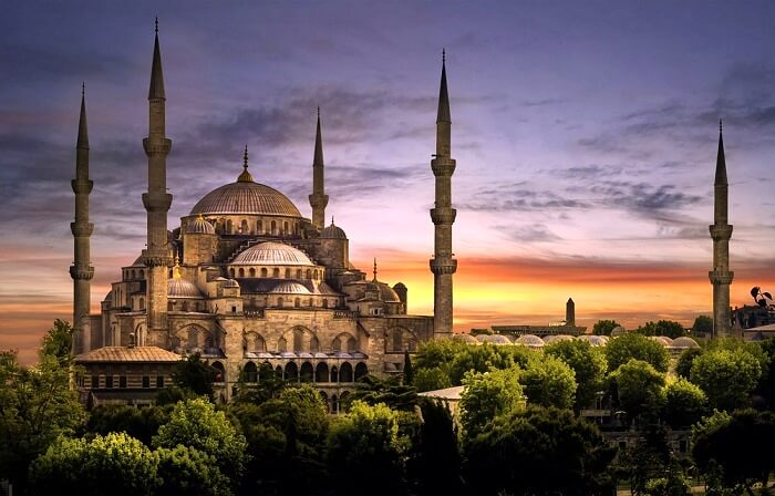 historical monuments in Turkey