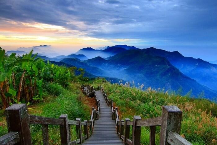 Jacob's peak in Taiwan