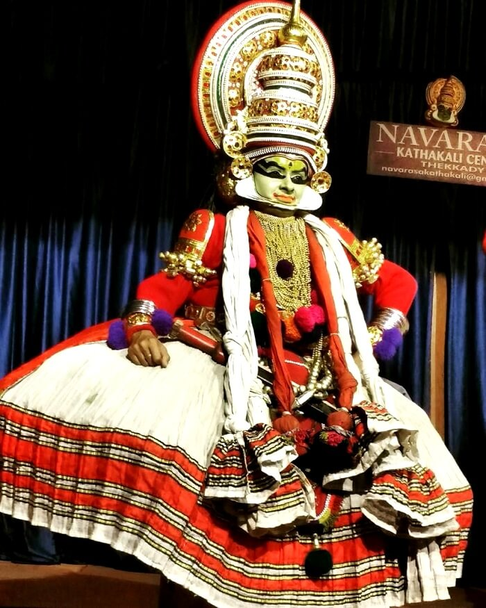 Kathakali performance in Kerala