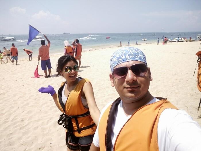 beach sports in Bali