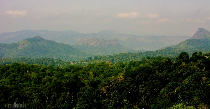 enroute Thekkady, Kerala