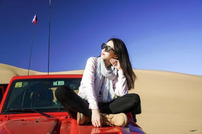 traveler in mongolia