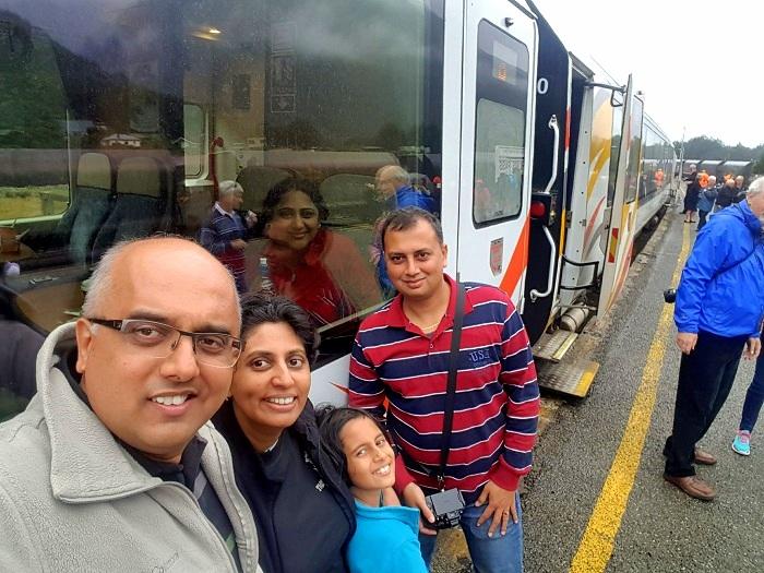 tranz alpine train journey