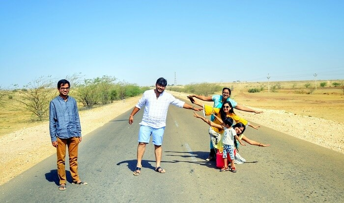 road trips in jaisalmer