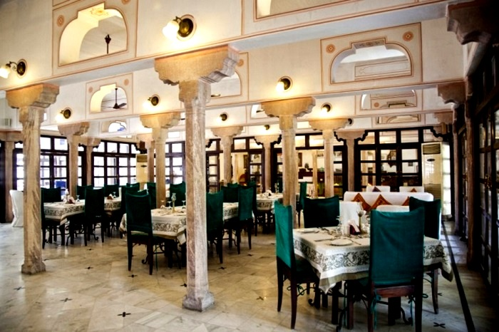The Baradari Mahal, Hotel Diggi Palace, Jaipur