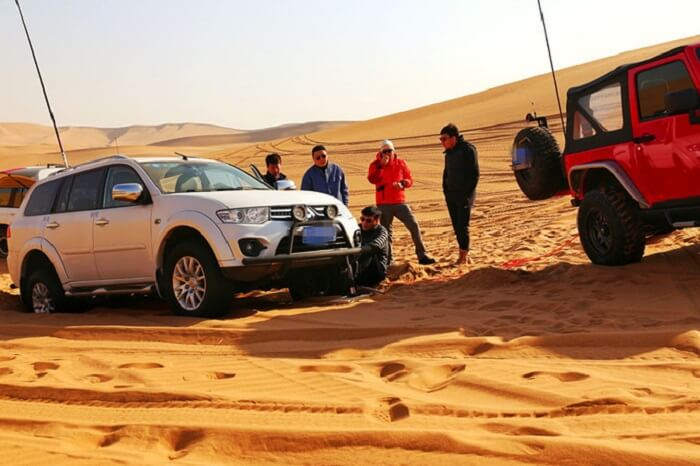 desert trip with friends