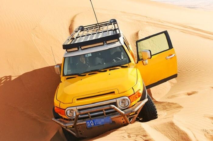 desert tour in mongolia