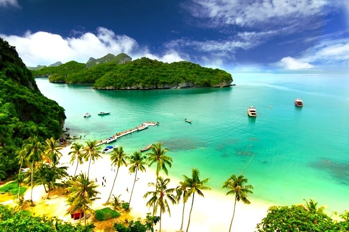 white sand beaches, Thailand