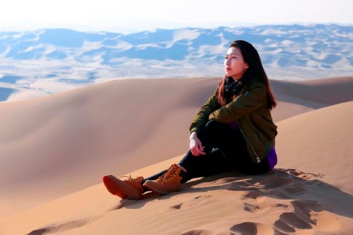 photography in tengger desert