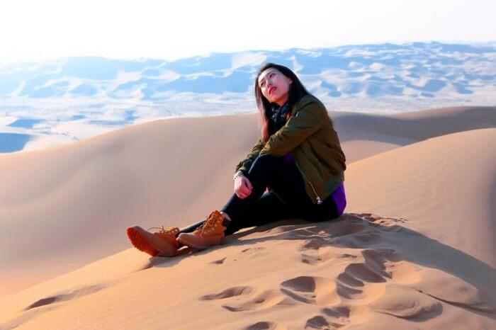 desert trip of inner mongolia